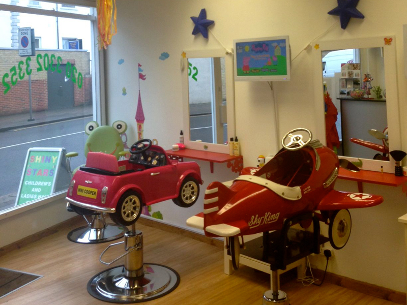 Kids childrens hairdressers in wimbledon ladies hair for A star is born kids salon